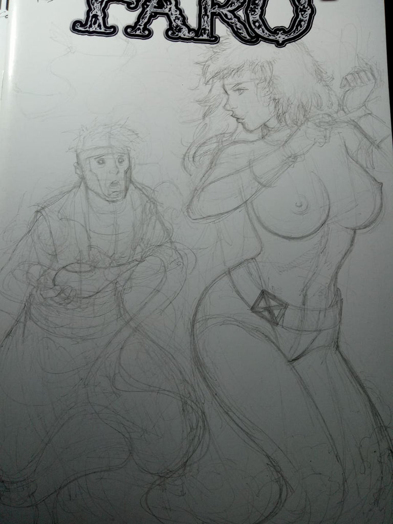 Rogue Genie -- Aladdin's Gambit -- Gwen Stacy is Robin -- Sunday Sketches