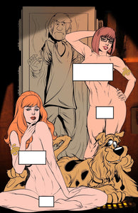 Scooby Slave Leia Poster Update -- Nude Daphne & Velma -- Scooby Wookie -- Frozen Shaggy