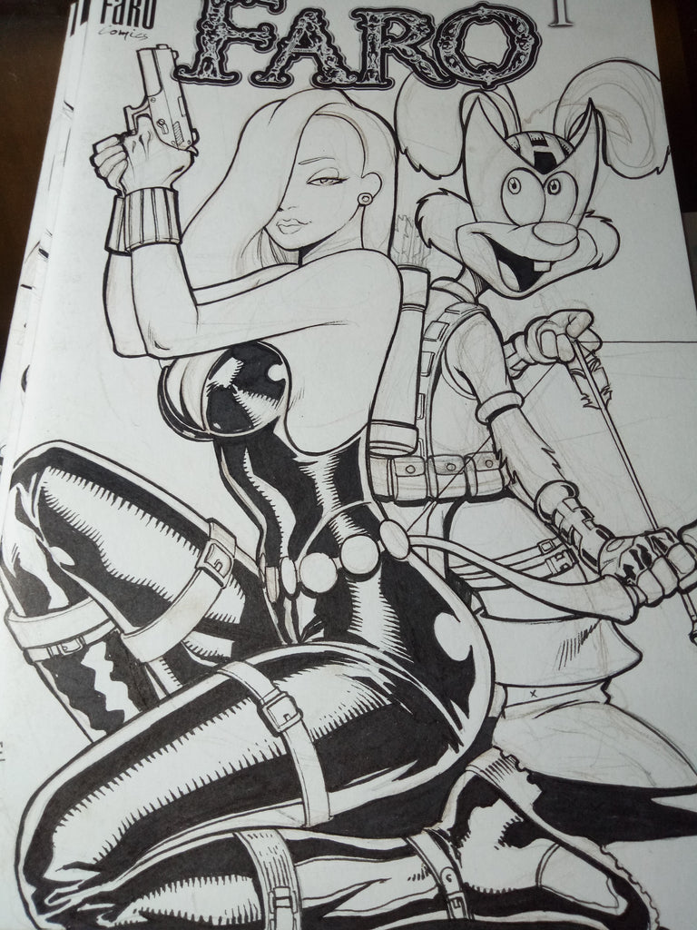 Widow Rabbit -- ZELDARA CHOPPER COVER INKS -- YOWSA 3000