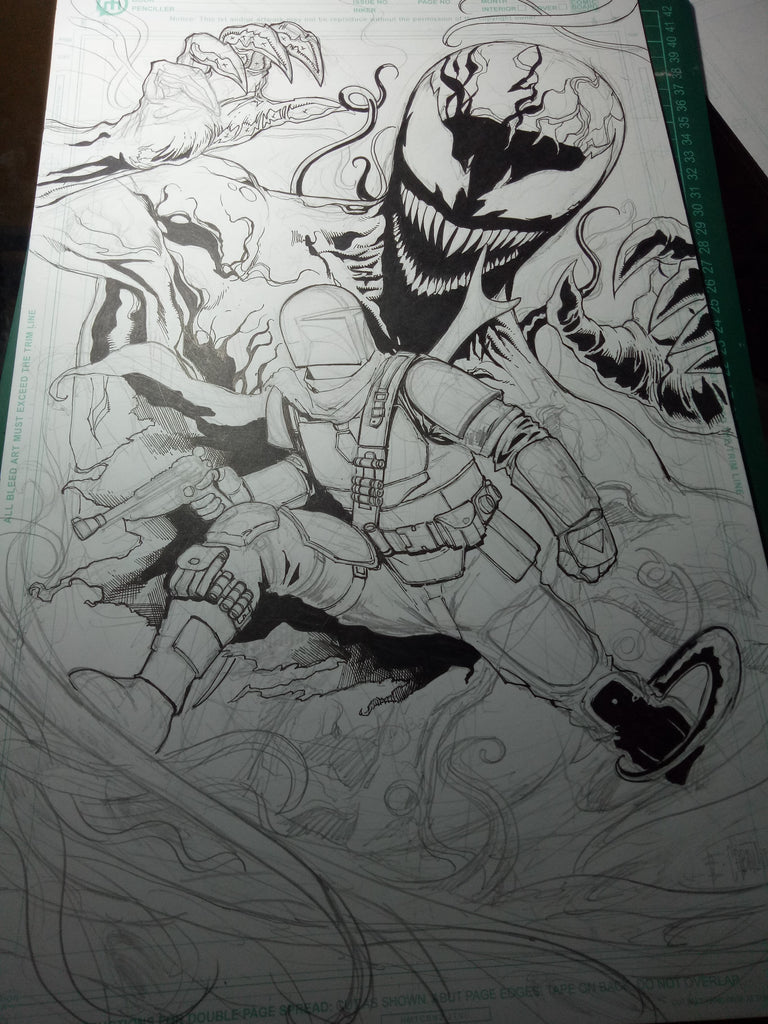 Scooby Doo Slasher Cover Update -- Carnage Vs The Mandalorian
