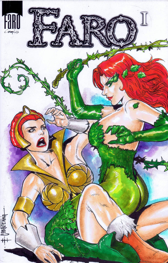 Teela Vs Ivy -- DIANA the CONQUEROR FINISHED POSTER