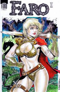 Red Sonja -- Power Girl MASHUP
