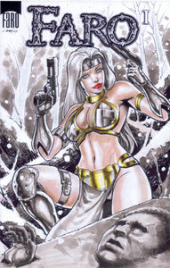Silver Sable in the Steel Bikini