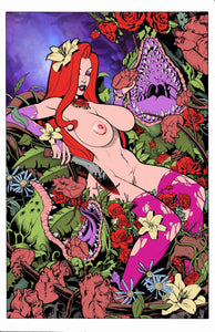 Jessica Rabbit -- Poison Ivy -- Mature Mashup Color Flats