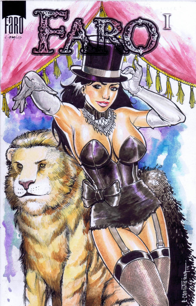 Double ZZ Zatanna Saturday Commission Covers -- Hot Hot Hey!
