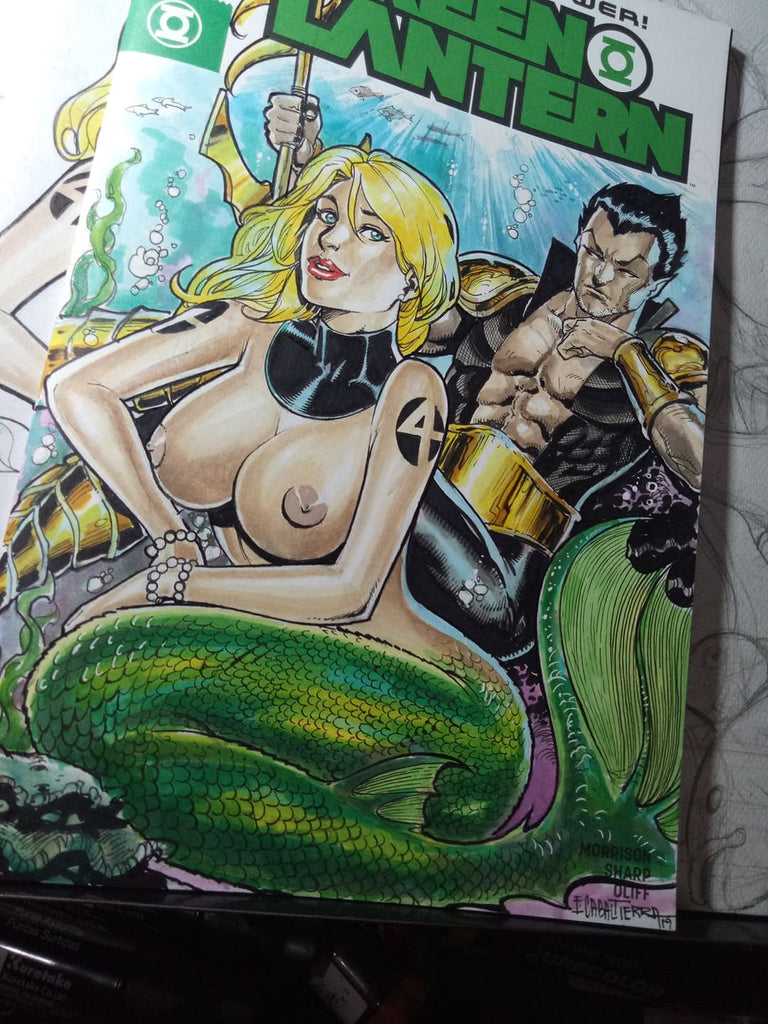 Sue Storm and Namor take over Atlantis