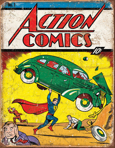 superman on action comics 1