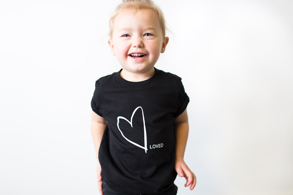Heart / Loved - T-Shirt