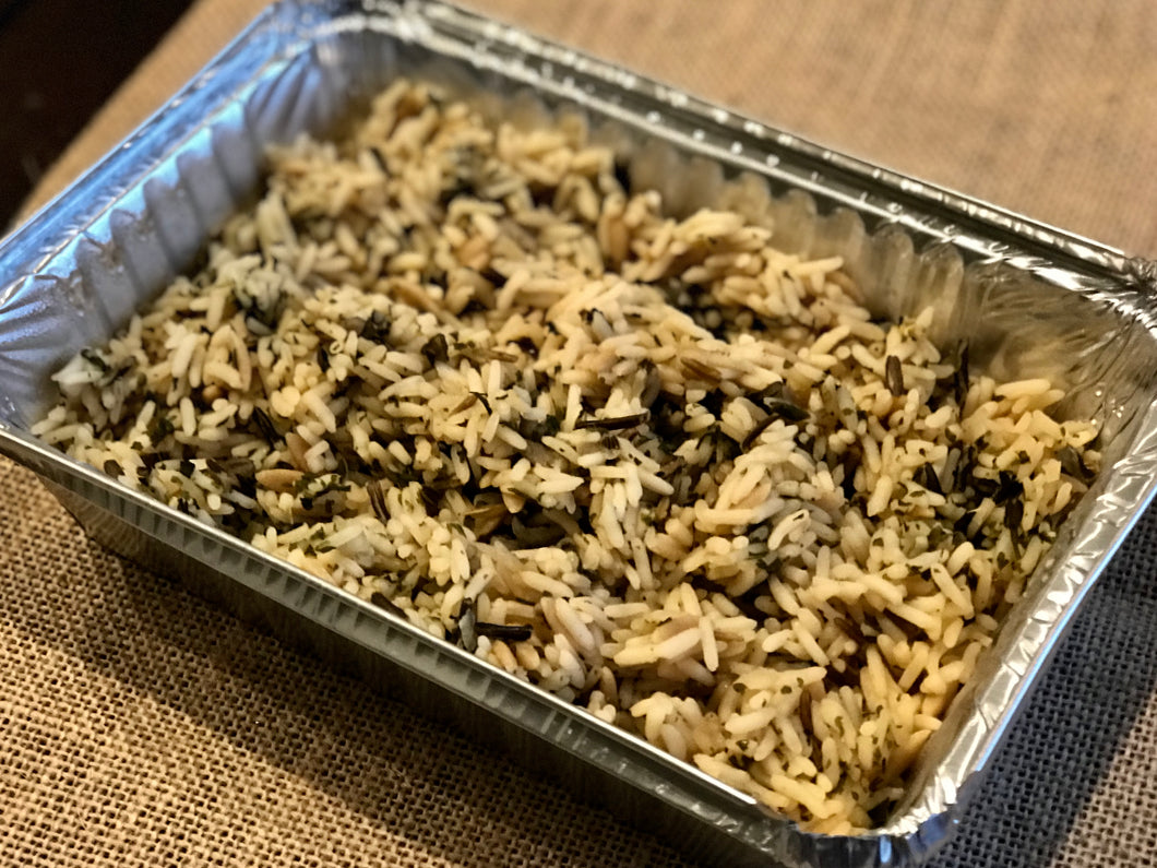 --Wild Rice - for two