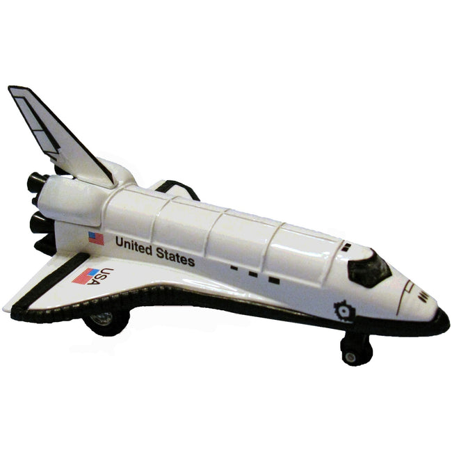 5-inch Pull Back Die-Cast Space Shuttle