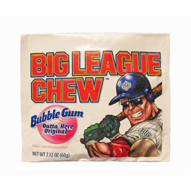 Big League Chew Bubble Gum - Original