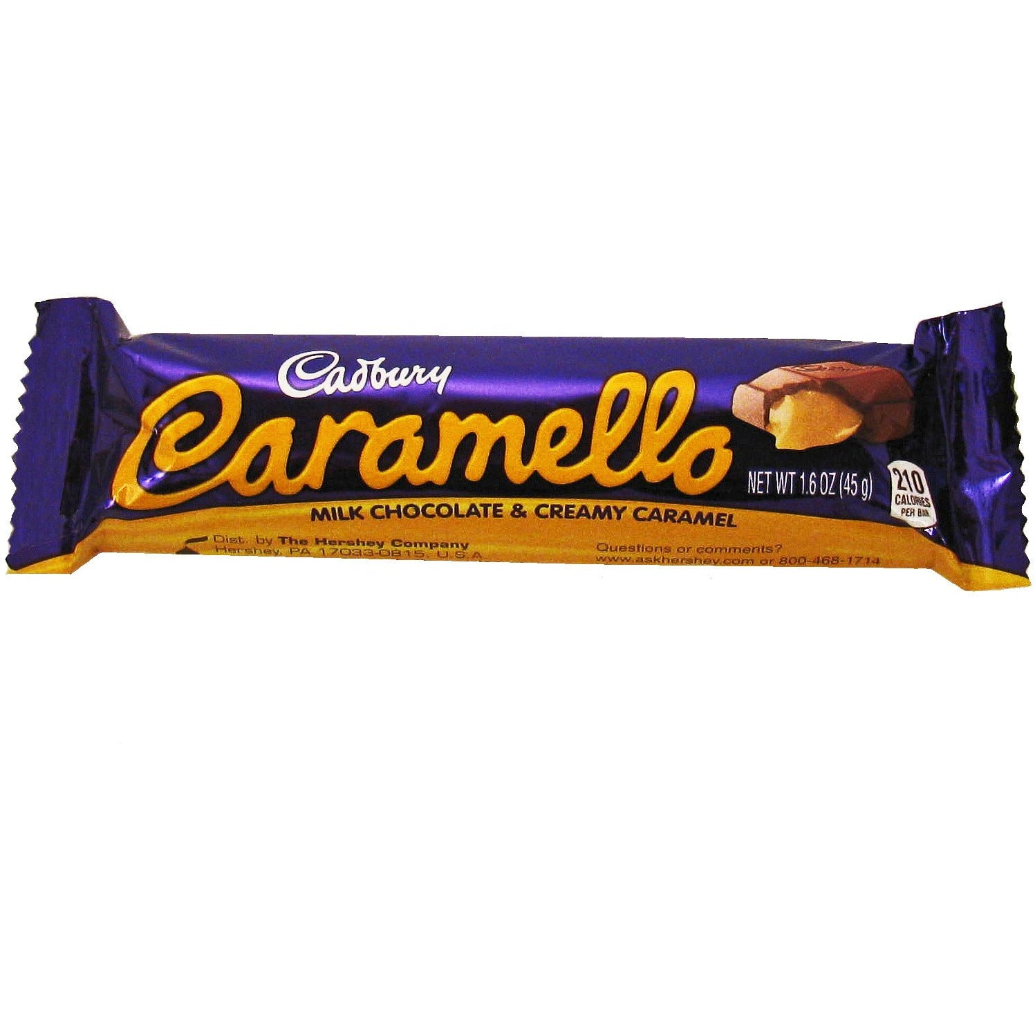 Cadbury Caramello Milk Chocolate & Creamy Caramel Bar