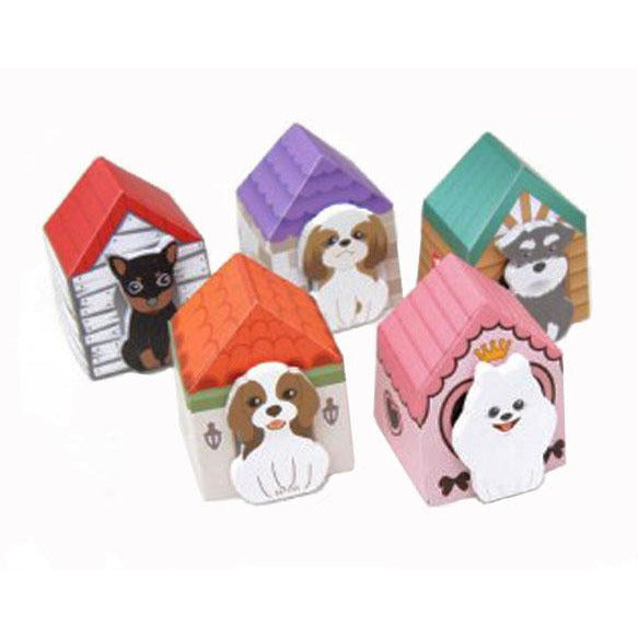 2-inch Puppy House-it Post-It Bookmark - Single (breeds vary)