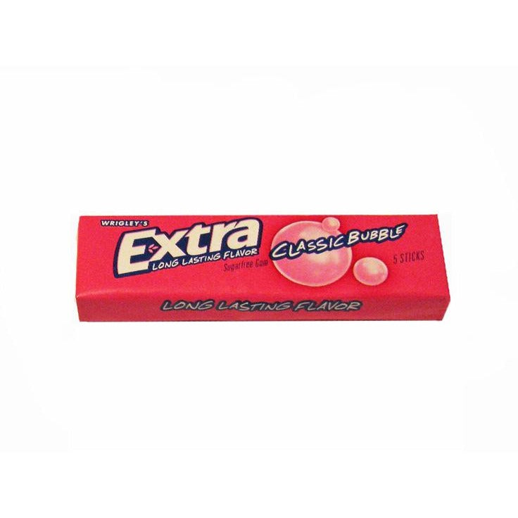 Extra Chewing Gum - Classic Bubble