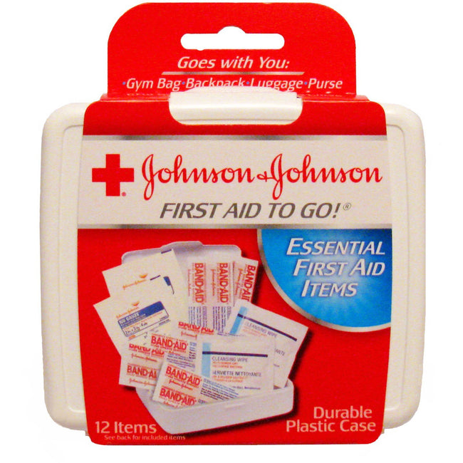 Johnson & Johnson First Aid Kit