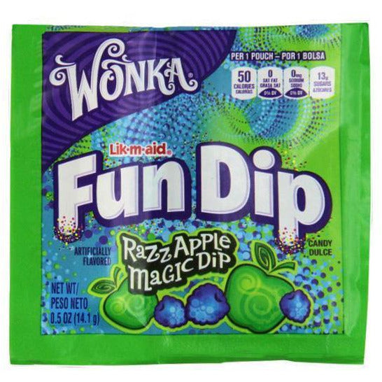Fun Dip - Razz Apple or Cherry Yum (not shown)