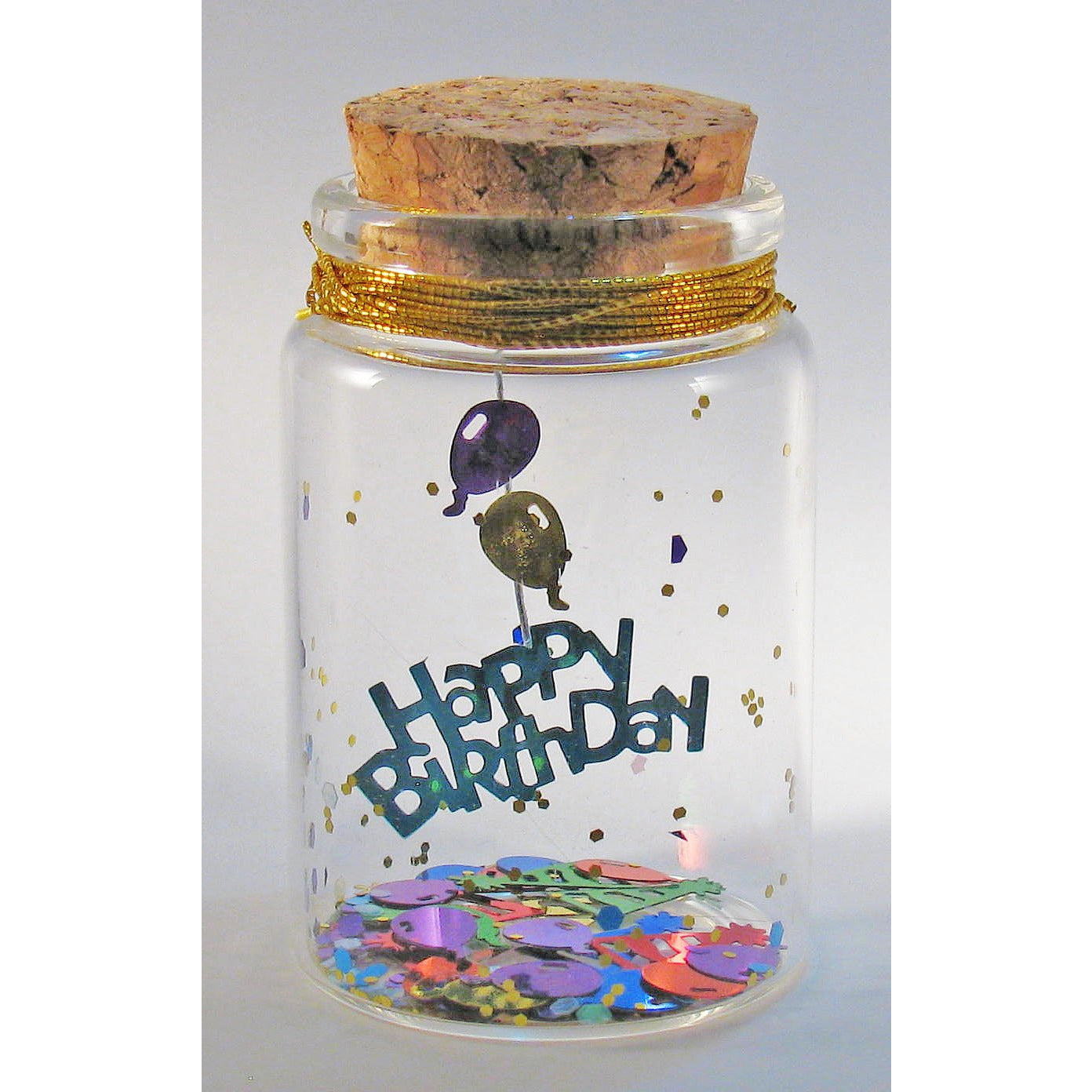 'Happy Birthday' Message in a Bottle