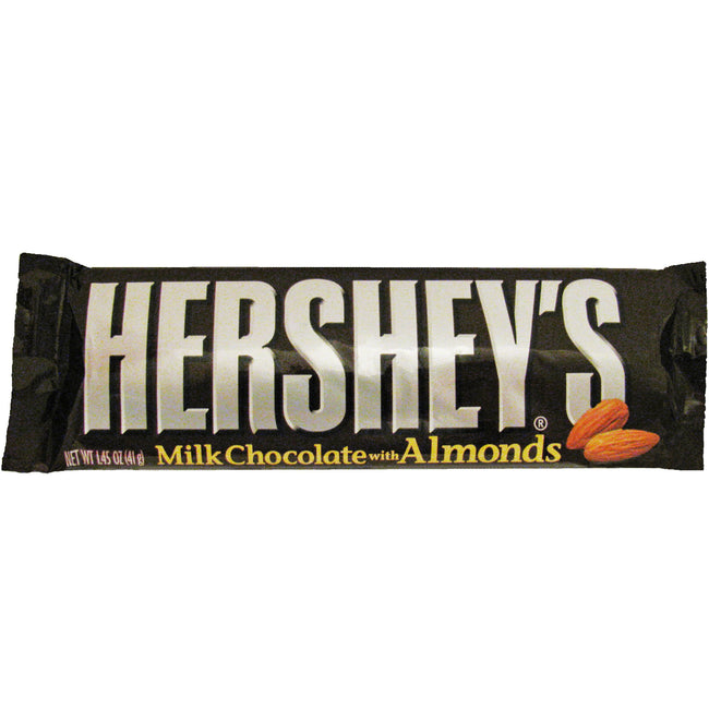 Hershey's Milk Chocolate Candy Bar with Almonds