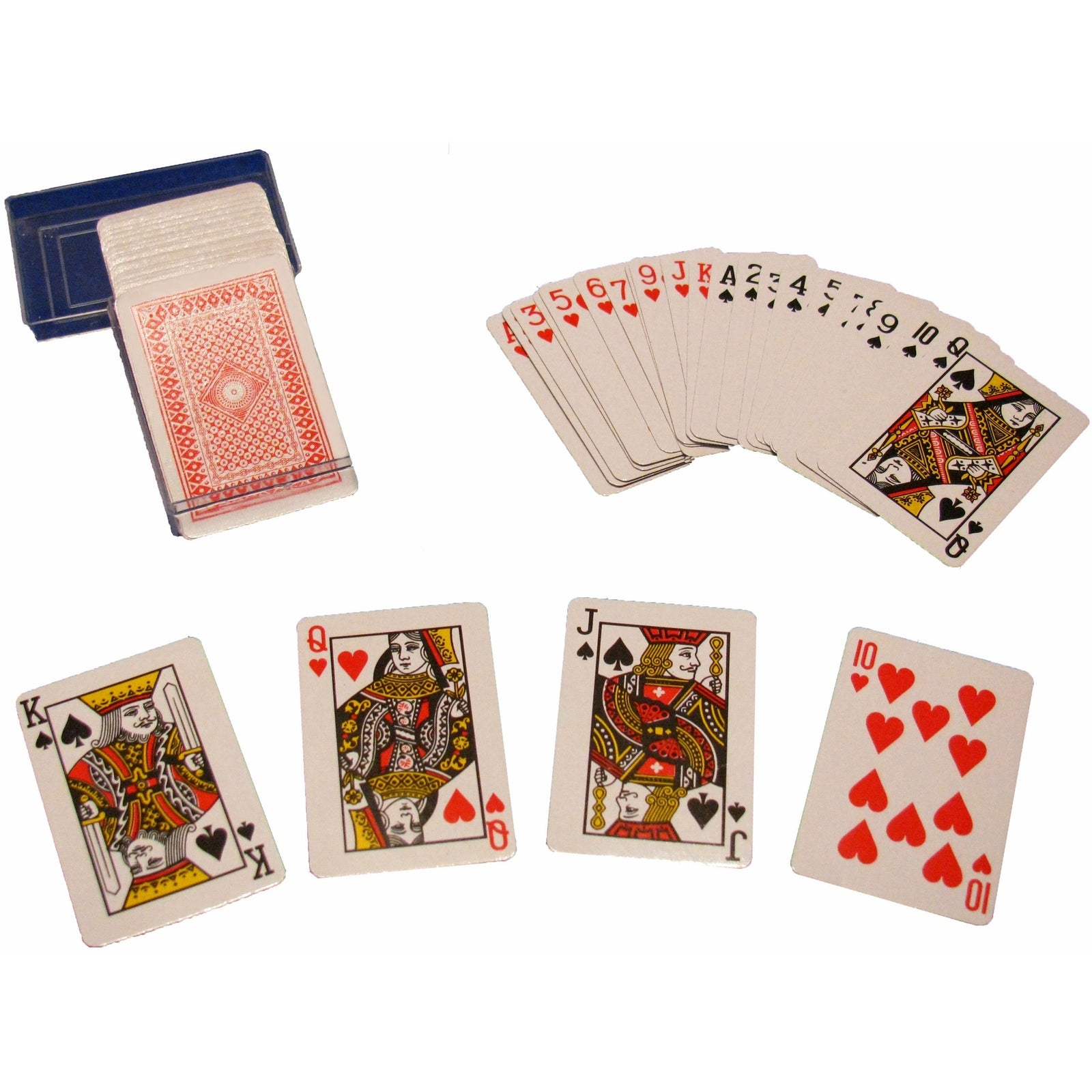 2.25-inch Mini Playing Cards with Case