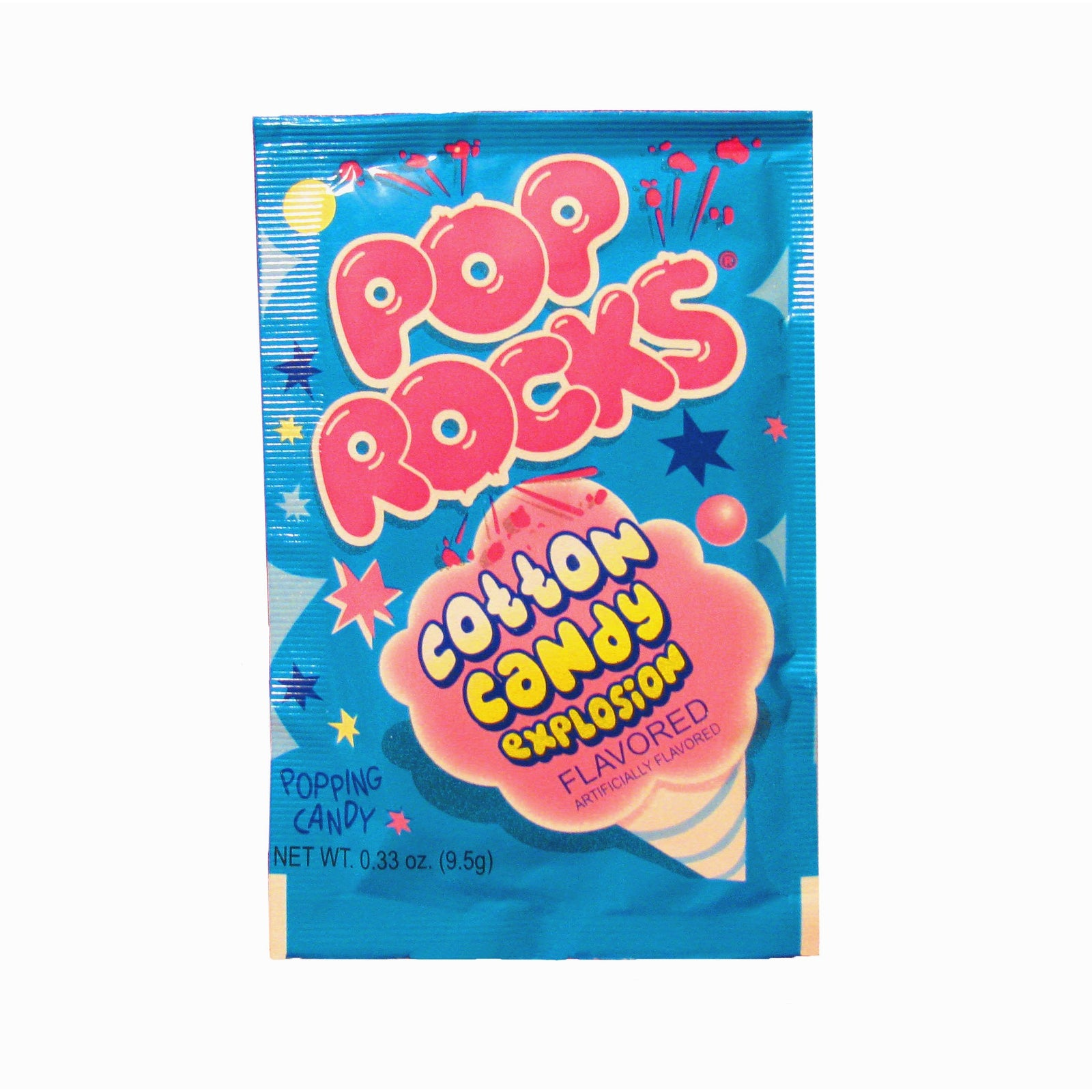 Pop Rocks Popping Candy - Cotton Candy Flavored