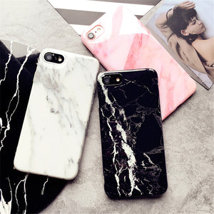 Marble iPhone Silicone Case
