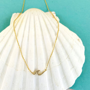 Party Wave Small Necklace