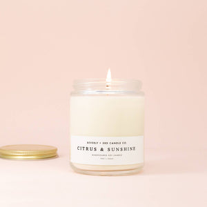 Beverly Citrus & Sunshine Candle