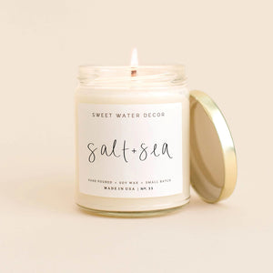 Sea and Salt Soy Candle