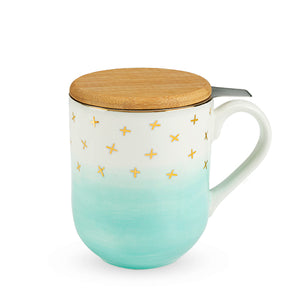 Green Ceramic Tea Mug