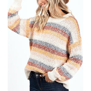 Fall Deep Sweater