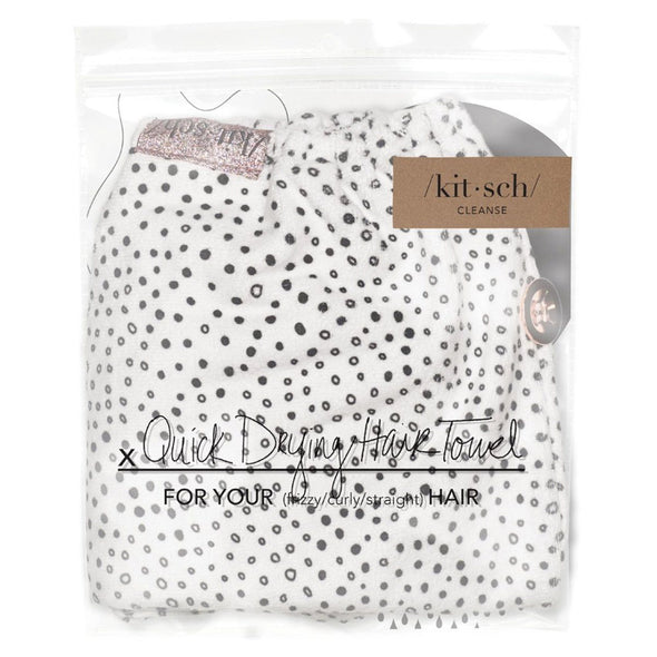 Kitsch Hair Towel - Micro Dot