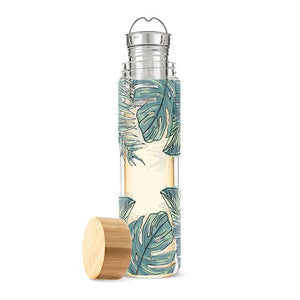 Tropical Glass Infuser Mug