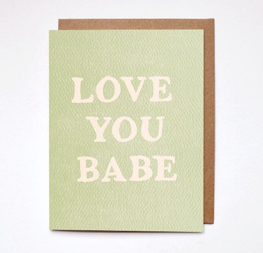 Daydream Love You Card