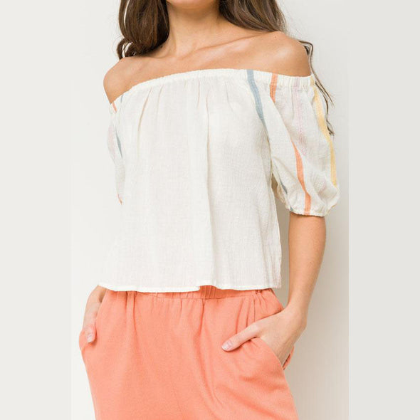Muted Summer Top