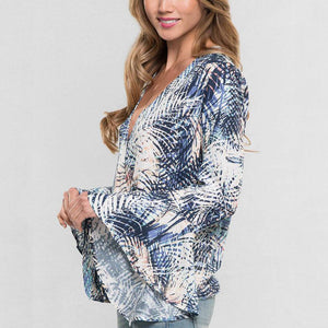 Palm Drape Top