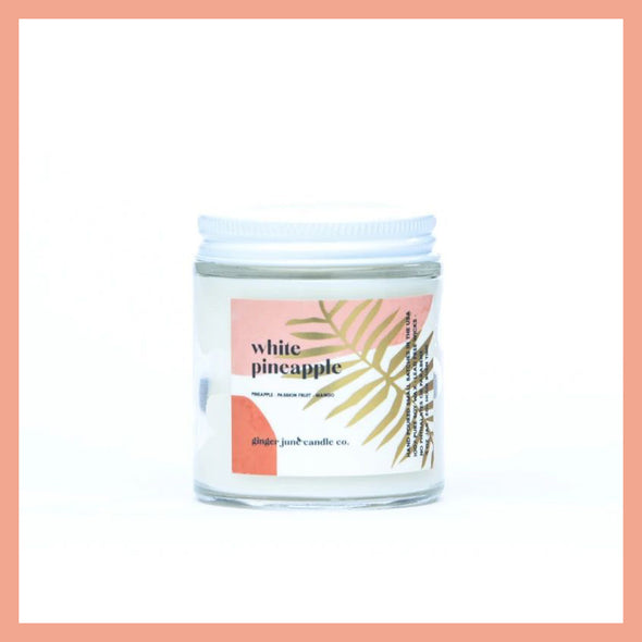 Terra Candle - White Pineapple