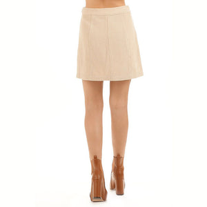 Therese Cord Skirt