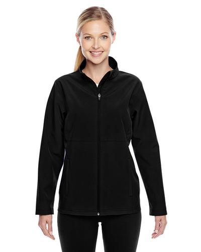 Ladies' Davidson Black Soft Shell Jacket