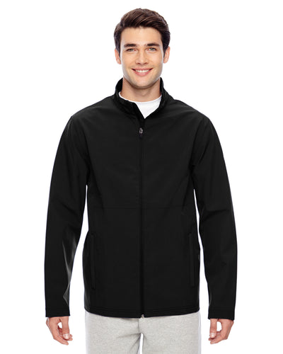 Men's Black Davidson Softshell Jacket