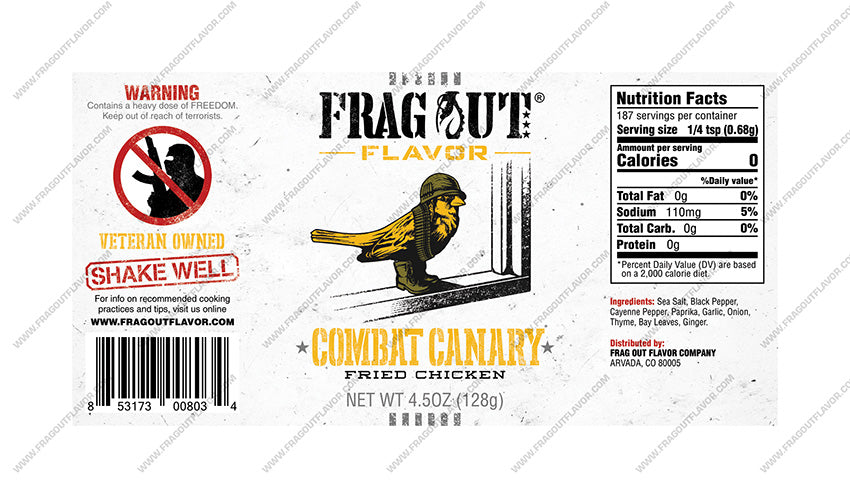 Combat Canary - Poultry Seasoning