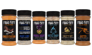 Frag Out Favorites - BBQ rubs and seasonings assortment