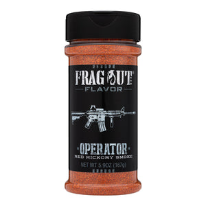 Operator - Red Hickory Smoke Rub / Seasoning