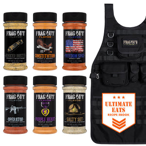 Operator's Grill Kit - Seasonings and rubs assortment