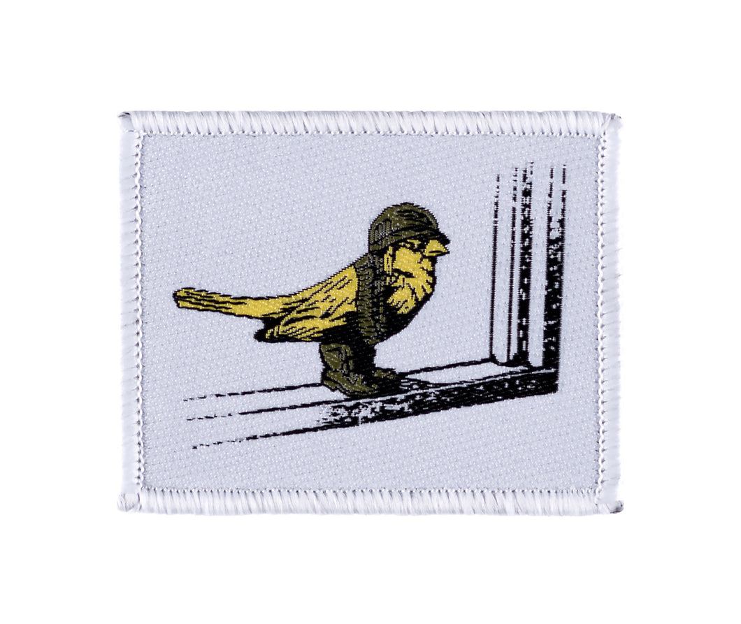 Yellow Bird Velcro Patch