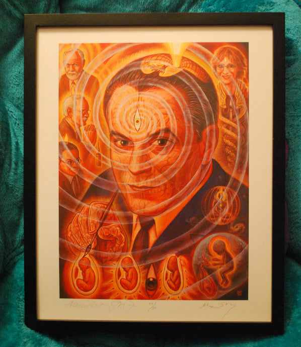 Stanislav Grof by Alex Grey