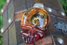 Lucky Glass Stealy Pendant Red Special