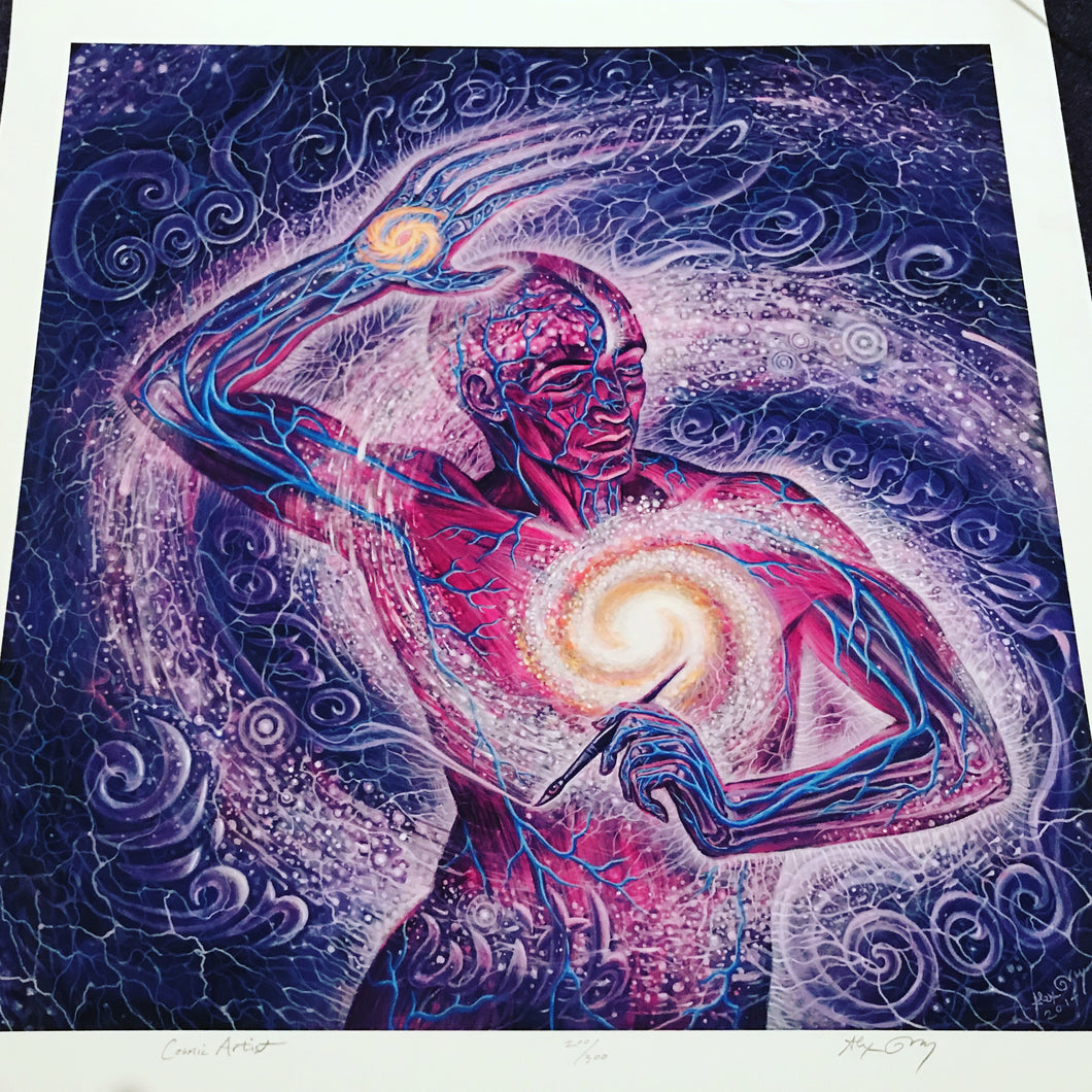 Cosmic Artist by Alex Grey