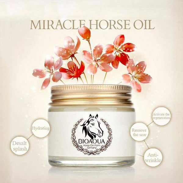 Best In Class Horse Oil Cream For Anti Aging And Moisturizing - Facial World