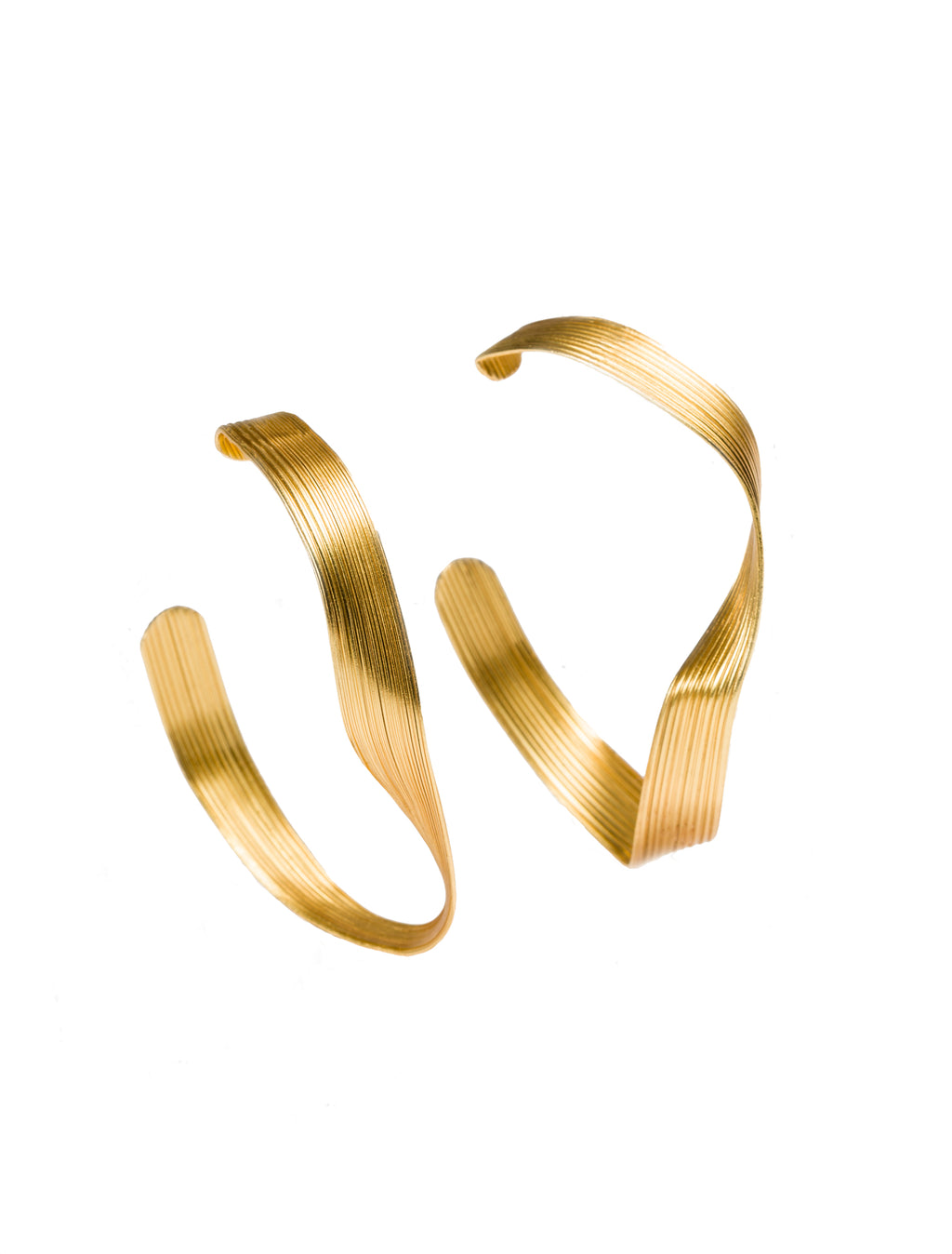 ARETES WAVES MAXI HOOPS