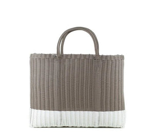 GERONIMO BAG BLANCO CON GRIS